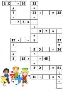 Math Division Worksheets, 3rd Grade Math Worksheets, Algebra Activities, Printable Math Worksheets, Maths Puzzles, Preschool Learning Activities, Math Games, School Spirit Days, Math Charts