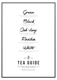 Tea Guide
