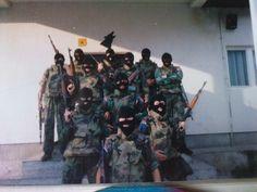 "The ""Drina wolves"", shock unit of Republika Srpska."