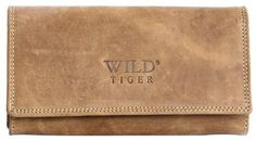 Light Brown Genuine Leather Wallet Wild Tiger ** You can find out more details at the link of the image. Wild Tiger, Branded Wallets, Wallets For Women Leather, Leather Wallet, Card Holder, Brown, Bags, Delivery, Natural Leather