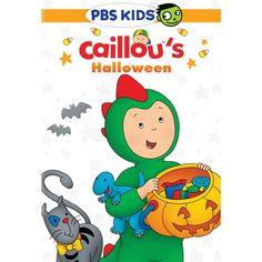Caillou: Caillou's Halloween (dvd_video)