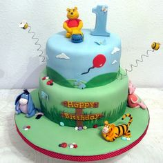 Winnie the pooh cake cake #cake