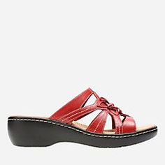5409545d52267e Delana Venna Red Leather womens-sandals-wedge Red Leather