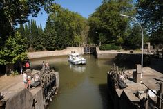Ecluse ronde d'Agde  canal du Midi