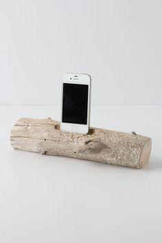 Driftwood iDock - Anthropologie.com $98
