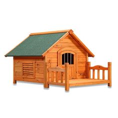 Attractive White Cedar Dog House is designed to be Affordable, Durable and Comfortable for your pet. The construction is from Lanceolata Cunninghamia. A sweetly scented cypress prized because it natur