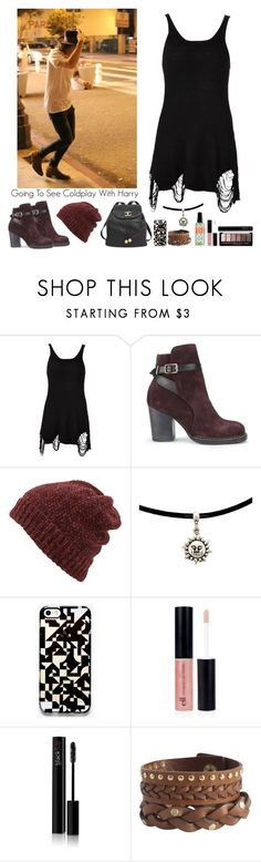 """Going To A Coldplay Concert With Harry Styles"" by kwiatekmarek ❤ liked on Polyvore featuring UNIF, Purified, Inverni, Chanel, Unison, blacklUp and Pieces"