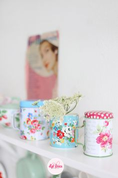 Syl loves, Cath Kidston, GreenGate  Adorable little tins