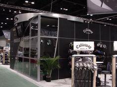 Callaway trade show booth