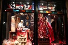 Our Aspen store windows are appropriately patriotic for the Fourth of July