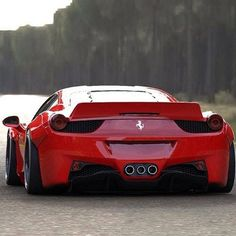 //Ferrari //458 //Wide body //Red