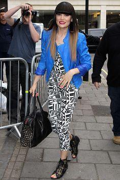 jessie j style   Jessie J at the BBC Radio 1 studios - celebrity fashion (Glamour.com ...
