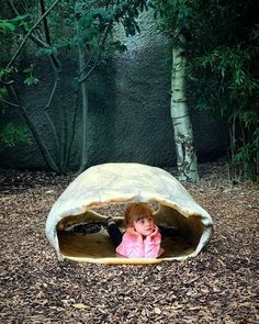 Just taking a break in a giant tortoise shell. Great day out at the zoo with my little niece and sister #makemoments