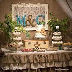 decoracion de mesas estilo vintage - Buscar con Google