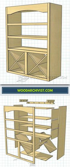 Bathroom Towel Rack Plans - Furniture Plans and Projects | WoodArchivist.com