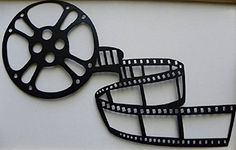 $18.99 + $5.25 shipping - Home Theater Decor Movie Reel and Film Metal Wall Art Say It All On The Wall http://www.amazon.com/dp/B004K9VB6Y/ref=cm_sw_r_pi_dp_QYp1vb06021BH