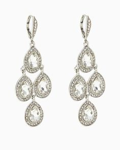 Platinum Status Earrings | Jewelry - RSVP Special Occasion | charming charlie