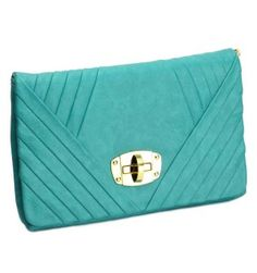 Urban Expressions Lilly Clutch in Turquoise