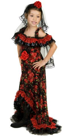 48 best flamenco spanish costume images on pinterest flamenco red rose spanish dancer girls costume spanish and mexican costumes solutioingenieria Choice Image