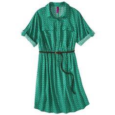 Pure Energy Junior's Plus-Size Shirt Dress With Belt - Size 4X (26/28)   $18.99