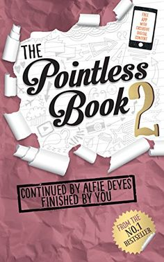 The Pointless Book Bk. 2 : Continued by Alfie Deyes Finished by You by Alfie Deyes Paperback) for sale online Youtuber Books, Youtuber Merch, Youtubers, The Pointless Book, Pointless Blog, Love Book, Book 1, Good Books, My Books