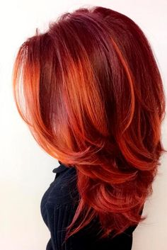 50 ideas for red hair color with highlights Hairstyle update . - 50 ideas for red hair color with highlights Hairstyles update color - Red Hair Color, Cool Hair Color, Red Colored Hair, Color Red, Hairstyles Haircuts, Cool Hairstyles, Long Haircuts, Wedding Hairstyles, Party Hairstyles