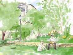 Nodame Cantabile - Thisbis a movie, live action, manga and anime so check one of them out:) Manga Love, Anime Love, Manga Anime, Anime Art, Watercolor Pictures, Anime Scenery, Pictures Images, Anime Style, Image Boards