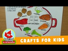 Stew Craft for Kids | Maple Leaf Learning Playhouse - YouTube