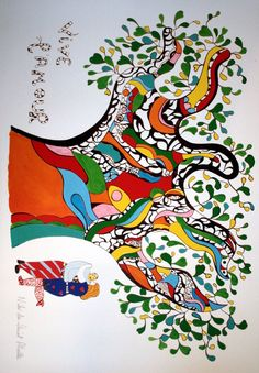 Niki de Saint Phalle painting