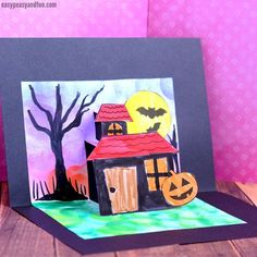 Wish your friends a Happy Halloween in style with this Spooky Mansion Halloween pop up card template. Print out our template or watch the tutorial and create your very own. *this post contains affiliate links* We love unique and fun Haloween cards, and this pop up card certainly is one. There are quite a few …