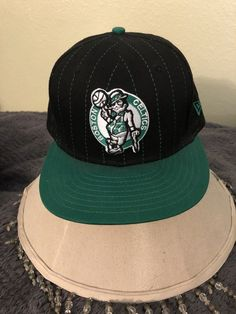 6d1ac9164e7 Boston Celtics New Era SnapBack Hat HWC Spell Out Hardwood Classics NBA