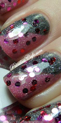 The Nail Junkie - Cupcake | Pointless Cafe