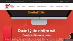 Review Control Finance – Lãi 1.5% hằng ngày mãi mãi – Đầu tư tối thiểu 10$ – Thanh toán tức thì Accounting, Finance, Economics