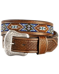 Nocona Belt, Concho Belt, Leather Belts, Leather Tooling, Brown Leather, Navajo Print, Leather Working Tools, Cowboys And Indians, Western Belts