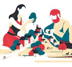 Tom Haugomat - Handsome Frank Illustration Agency