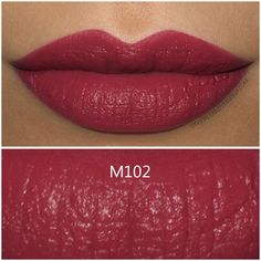 Make Up For Ever Artist Rouge Mat Lipstick in M102 - Review and Swatch