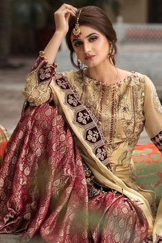 Pakistani Wedding Outfits, Pakistani Bridal Wear, Pakistani Dress Design, Designer Wear, Designer Dresses, Dulhan Dress, Clothing Studio, Designer Bridal Lehenga, Party Wear Dresses