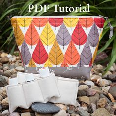 This listing is for an essential oil bag PDF PATTERN only, NOT a finished product.    This listing is for a PDF Pattern and Tutorial that