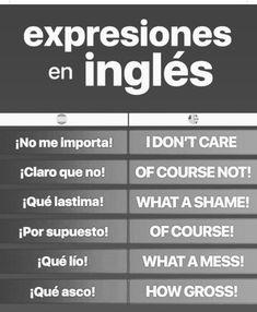 Spanish Language Learning, English Vocabulary Words, English Phrases, Learn English Words, English Grammar, Spanish Lessons, English Lessons, Sms Language, English Writing Skills