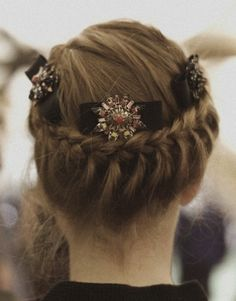 Lovely braided hairstyle