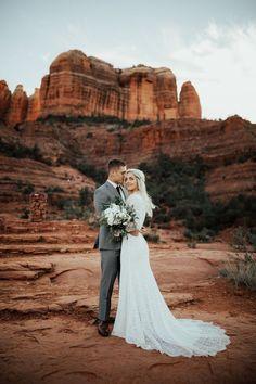 Sedona, Arizona Bridals at Cathedral Rock Sedona Wedding, Arizona Wedding, Elope Wedding, Wedding Pictures, Dream Wedding, Wedding Day, Wedding Stuff, Grand Canyon Wedding, Yosemite Wedding