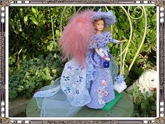 de Thérèse.T Barbie, Harajuku, Creations, Gowns, Blog, Crochet, Pinocchio, Dragon, Fashion