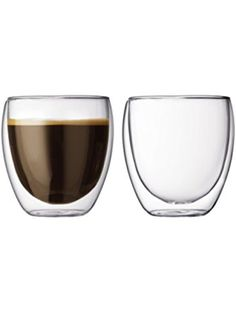 Bodum Pavina 8.5-Ounce Double-Wall Thermo Tumber/DOF Glass, Set of 2 ❤ Bodum