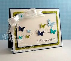 Love the butterflies! Stampin Up