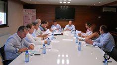 Reunión de la Asociación Nacional de Mercados de Ganado de España (ASEMGA) en Agromaq 2011, en Salamanca. (9/09/2011).