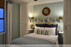 Small Condo, Small Budget Bedroom Makeover - Before & After - Addicted 2 Decorating® Apartment Makeover, Bedroom Makeover, Bedroom Makeover Before And After, Budget Bedroom Makeover, Bedroom Built Ins, Small Bedroom, Condo Bedroom, Small Bedroom Makeover, Remodel Bedroom