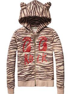Speciale sweater met capuchon | Sweat | Meisjeskleding bij Scotch & Soda