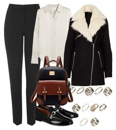 """""""Untitled #5630"""" by rachellouisewilliamson ❤ liked on Polyvore featuring Topshop, Chloé and Gucci"""