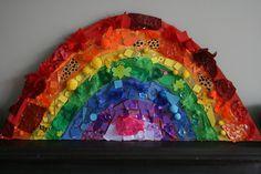 The Imagination Tree: Giant Rainbow Collage