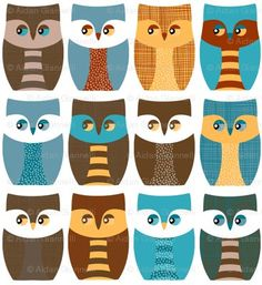 Owls, owls and more owls